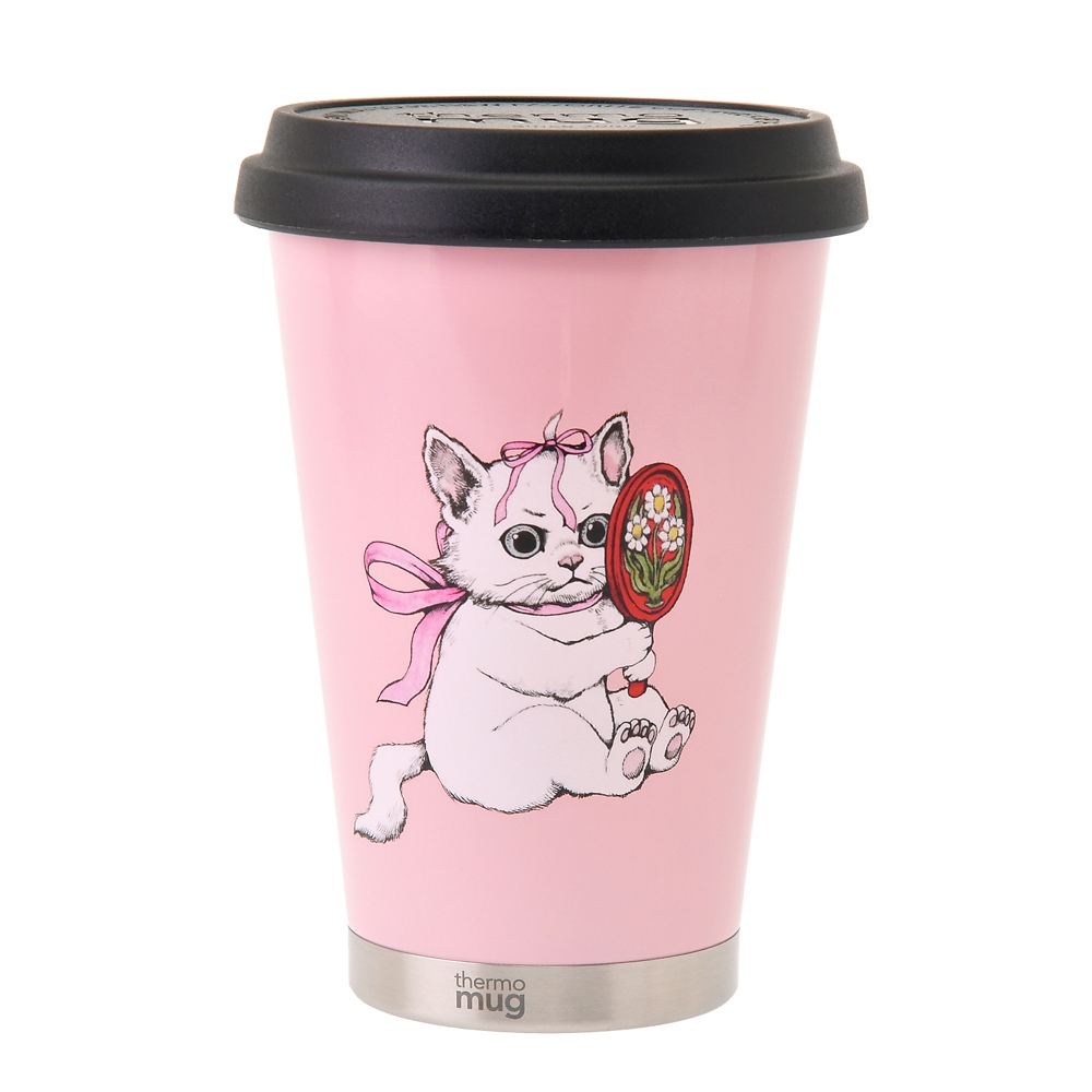 【thermo mug】マリー おしゃれキャット タンブラー Disney ARTIST COLLECTION by YUKO HIGUCHI