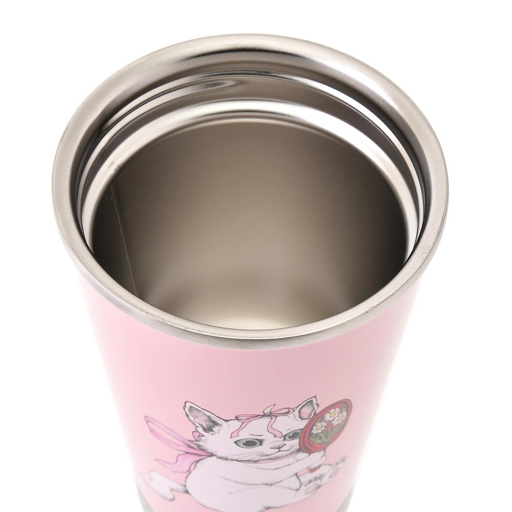 【thermo mug】マリー おしゃれキャット タンブラー Disney ARTIST COLLECTION by YUKO HIGUCHI