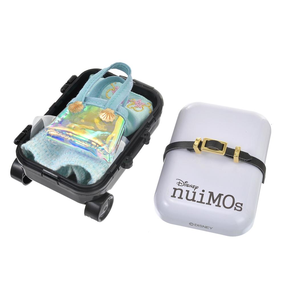 nuiMOs ぬいぐるみ専用スーツケース ホワイト