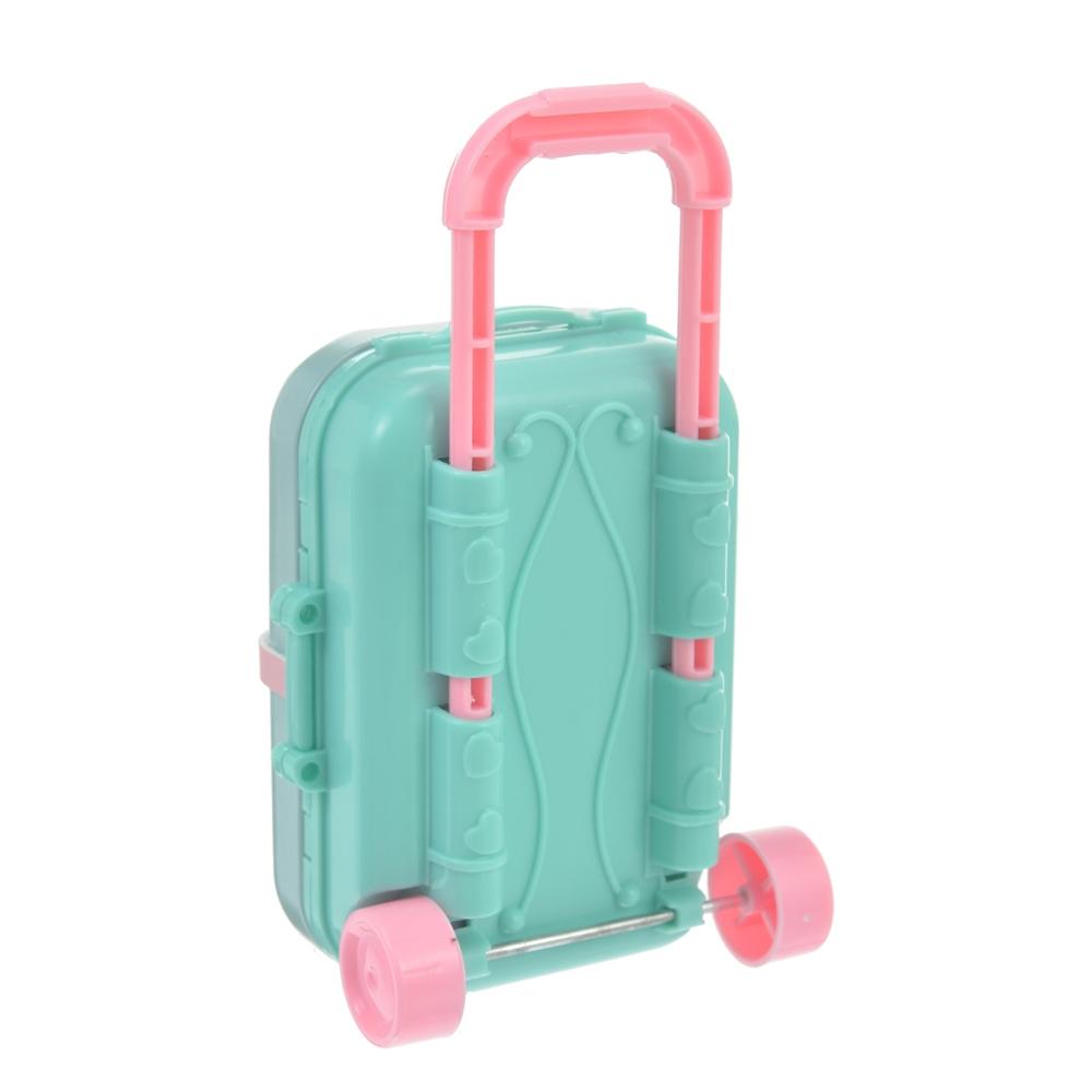 nuiMOs ぬいぐるみ専用スーツケース ミントグリーン
