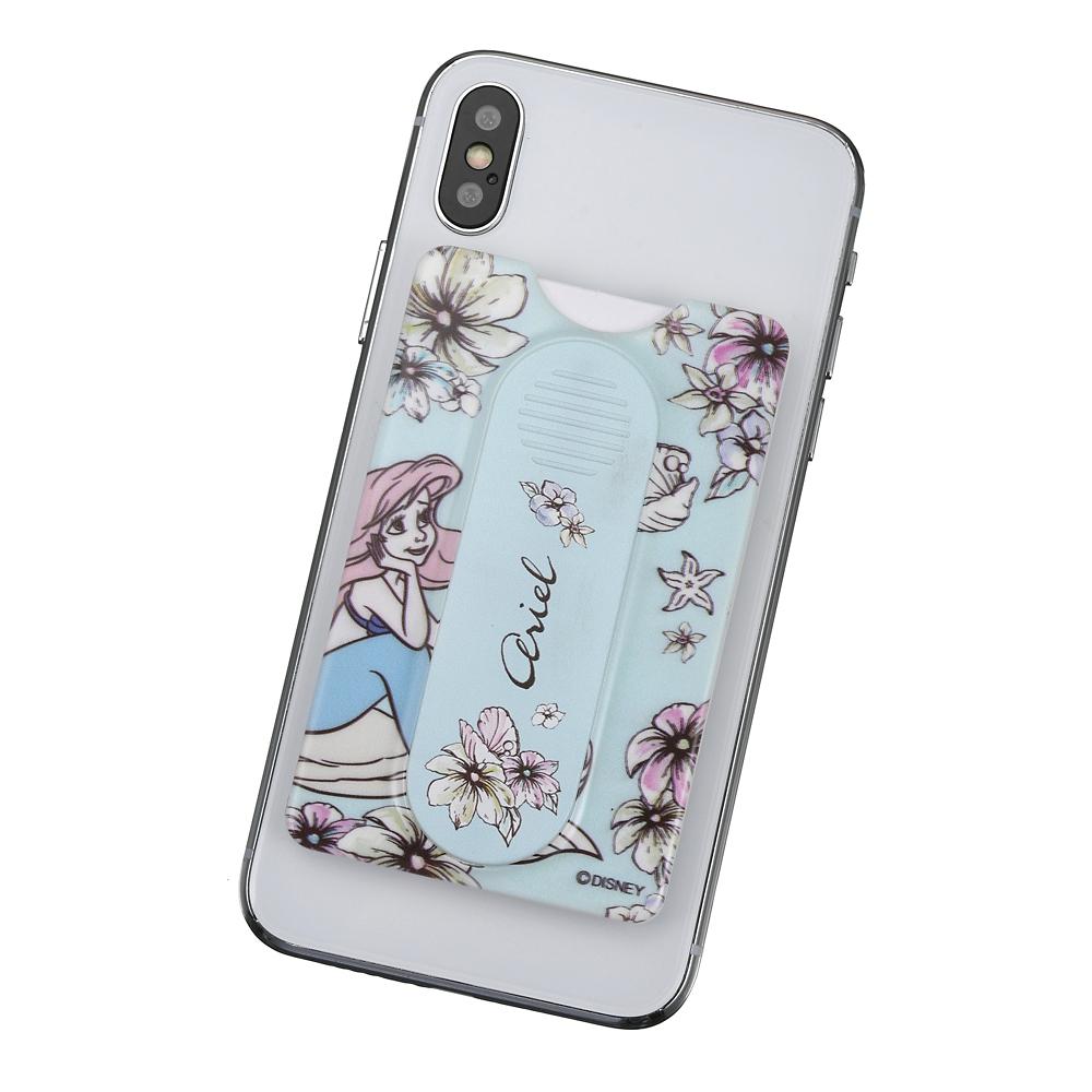 アリエル カードケース・スマートフォンリング スマートフォン用 シアーフラワー