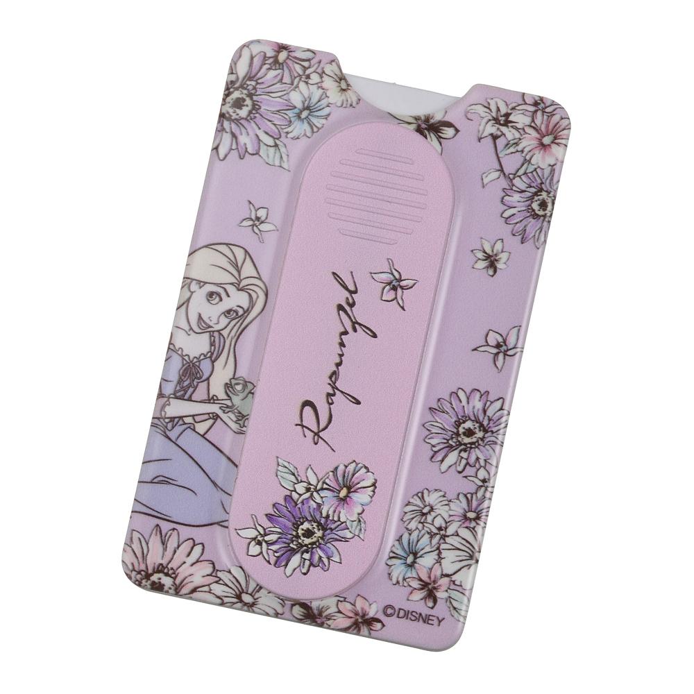 ラプンツェル&パスカル カードケース・スマートフォンリング スマートフォン用 シアーフラワー