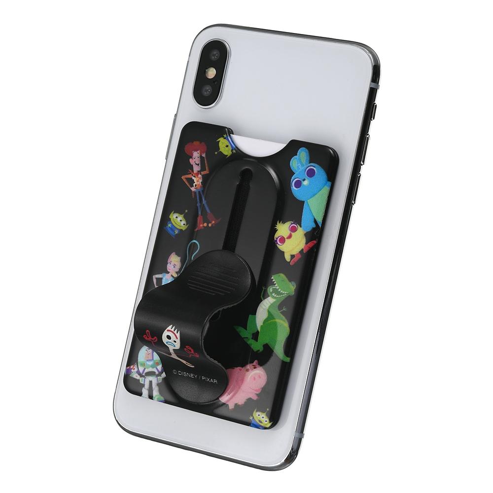 トイ・ストーリー4 カードケース・スマートフォンリング スマートフォン用 デフォルメ