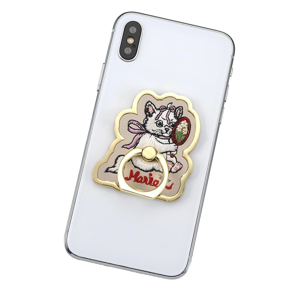マリー おしゃれキャット スマートフォンリング Disney ARTIST COLLECTION by YUKO HIGUCHI
