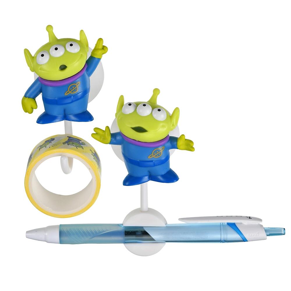 リトル・グリーンメン/エイリアン テープスタンド・ペンスタンド デコレーションテープ付き Playful Toys