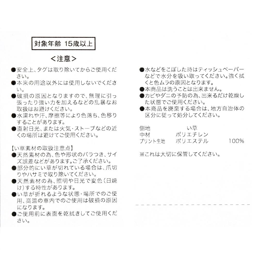 チップ&デール 枕 い草 Otona Summer 2021