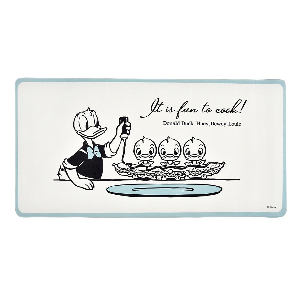 ドナルド&ヒューイ、デューイ、ルーイ マット Pastel Everyday Kitchen
