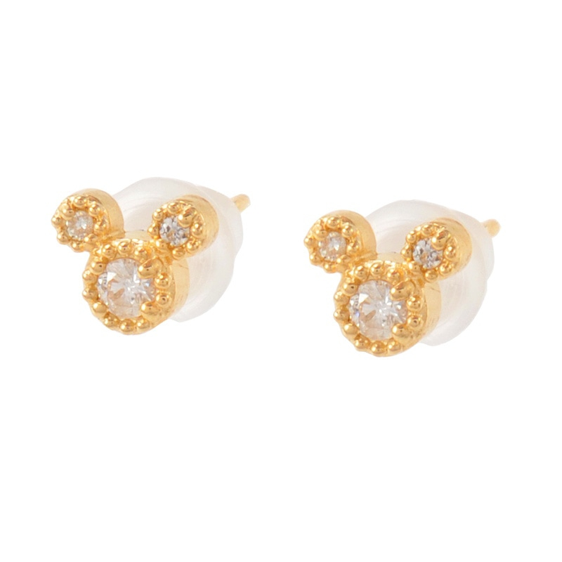 【D-Made】ピアス Anniversary Jewelry ミッキーアイコン