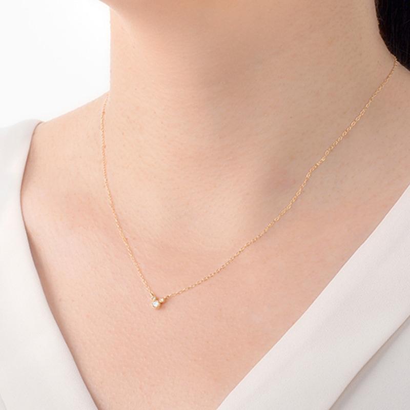 【D-Made】ネックレス Anniversary Jewelry ミッキーアイコン