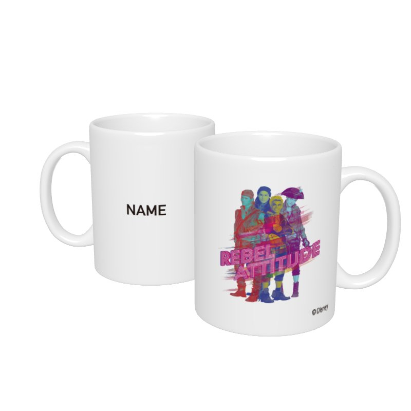 【D-Made】名入れマグカップ  ディセンダント2