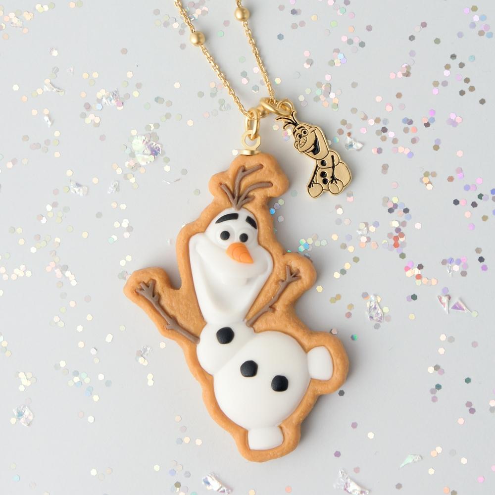 【キューポット】オラフ/ネックレス シュガークッキー