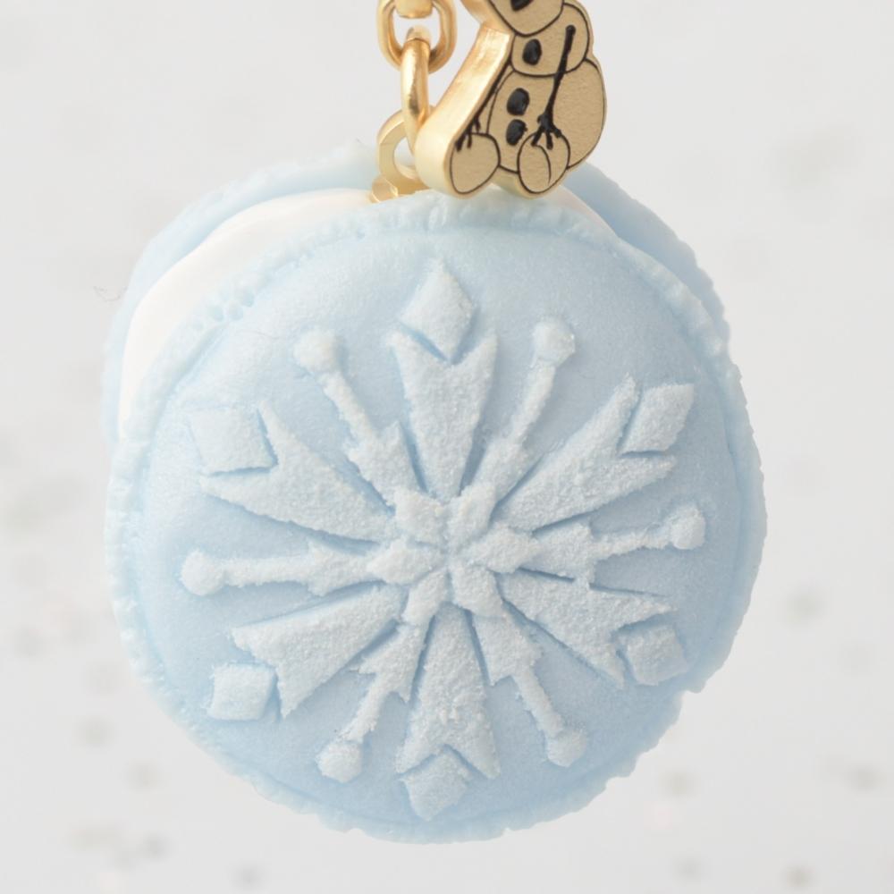 【キューポット】アナと雪の女王/バッグチャーム フローズンマカロン