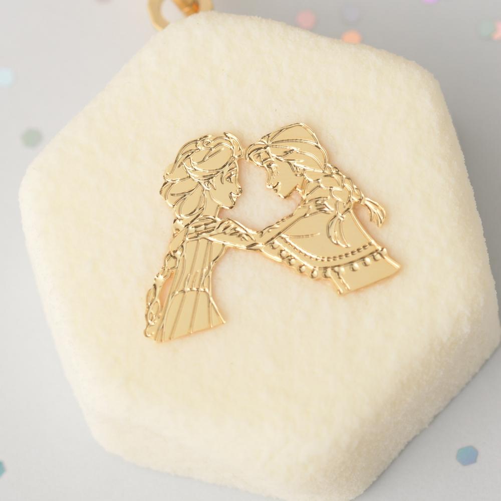 【キューポット】アナと雪の女王/バッグチャーム ショコラ