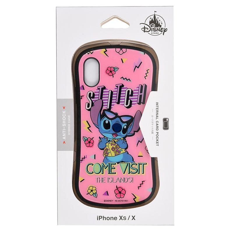 スティッチ iPhone X/XS用スマホケース・カバー Summer Party