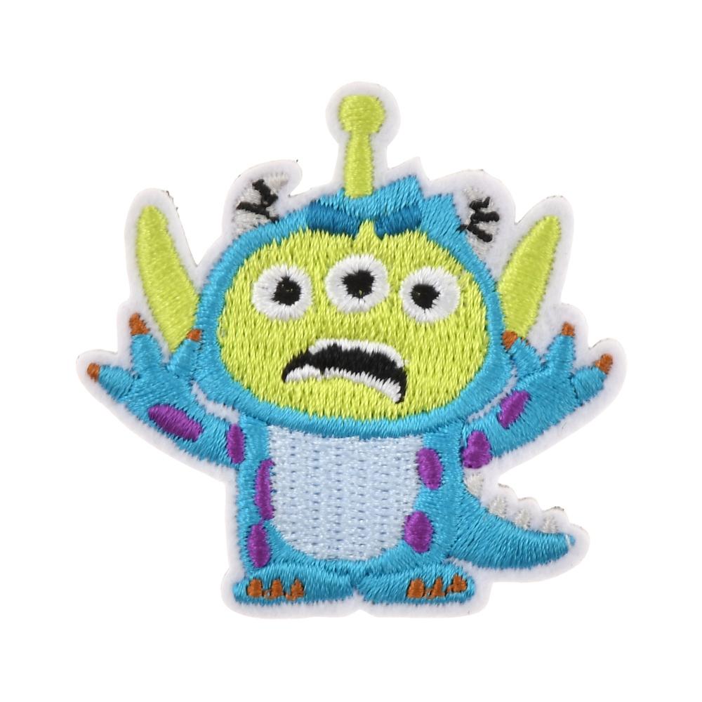 リトル・グリーン・メン/エイリアン ピンバッジ 刺しゅう サリーコスチュームエイリアン Toy Story 25th