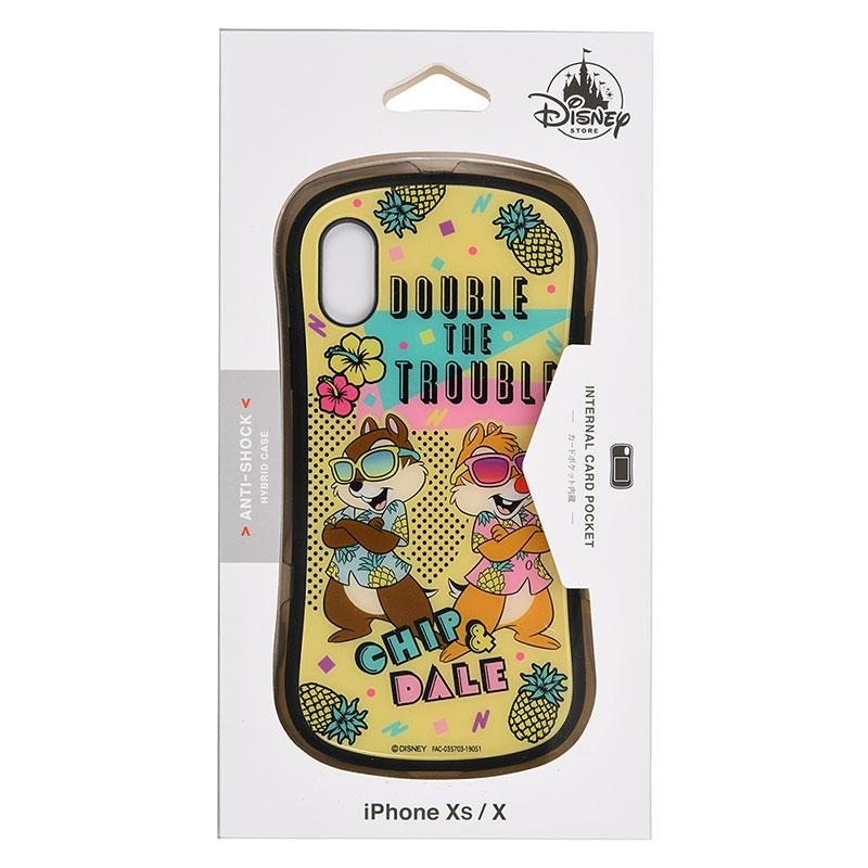 チップ&デール iPhone X/XS用スマホケース・カバー Summer Party