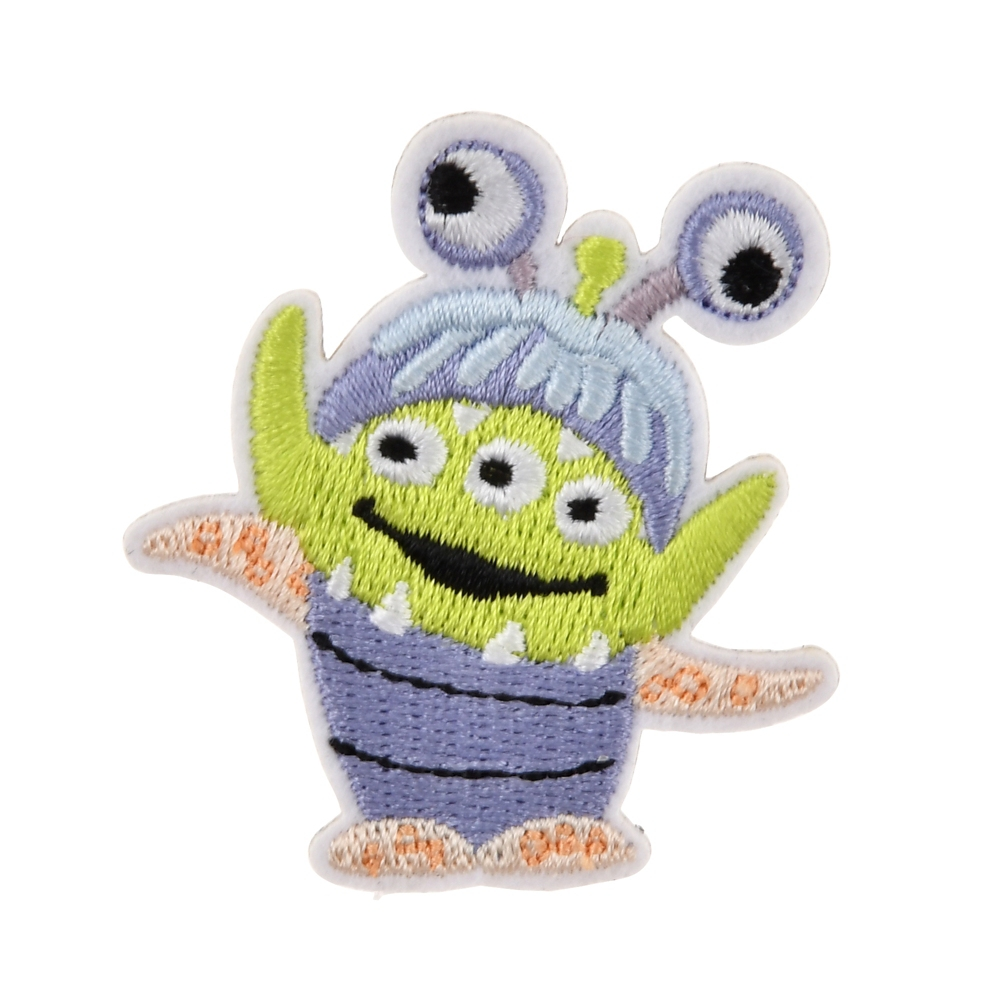 リトル・グリーン・メン/エイリアン ピンバッジ 刺しゅう ブーコスチュームエイリアン Toy Story 25th
