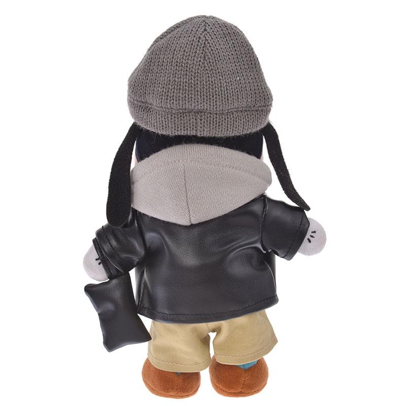 nuiMOs ぬいぐるみ専用コスチューム レザー風ジャケットセット