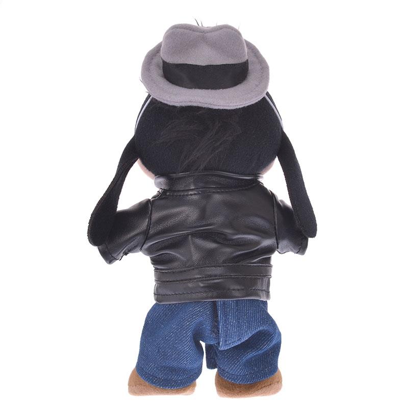 nuiMOs ぬいぐるみ専用コスチューム ライダースジャケットセット レザー風