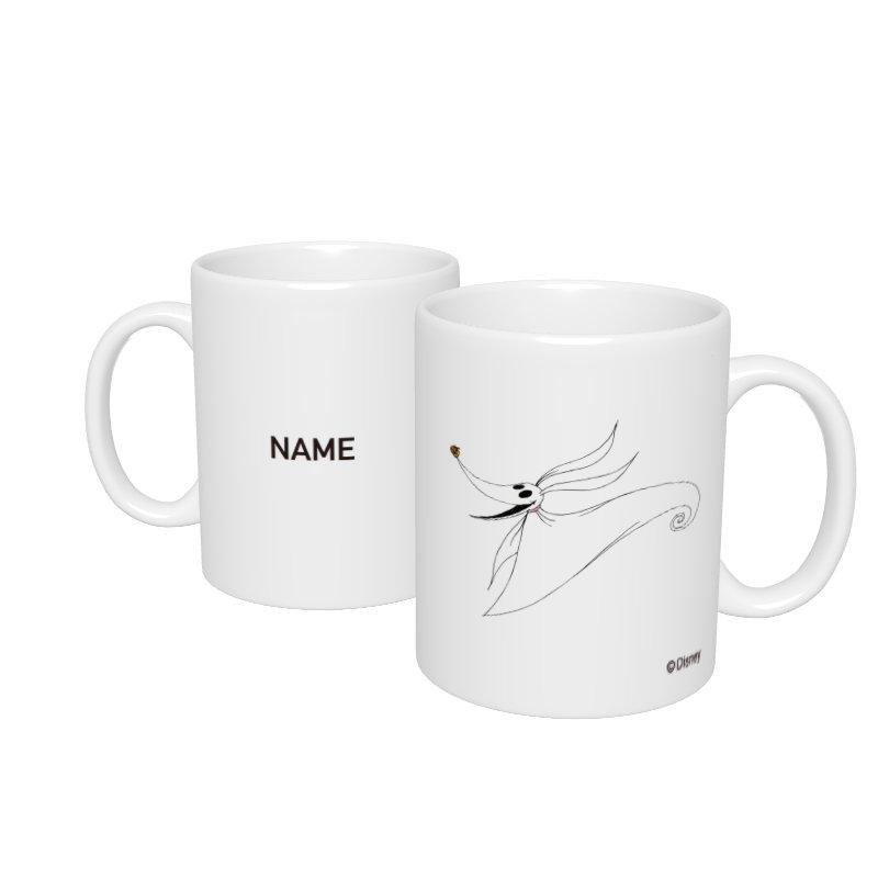 【D-Made】名入れマグカップ  ティム・バートン ナイトメアー・ビフォア・クリスマス ゼロ
