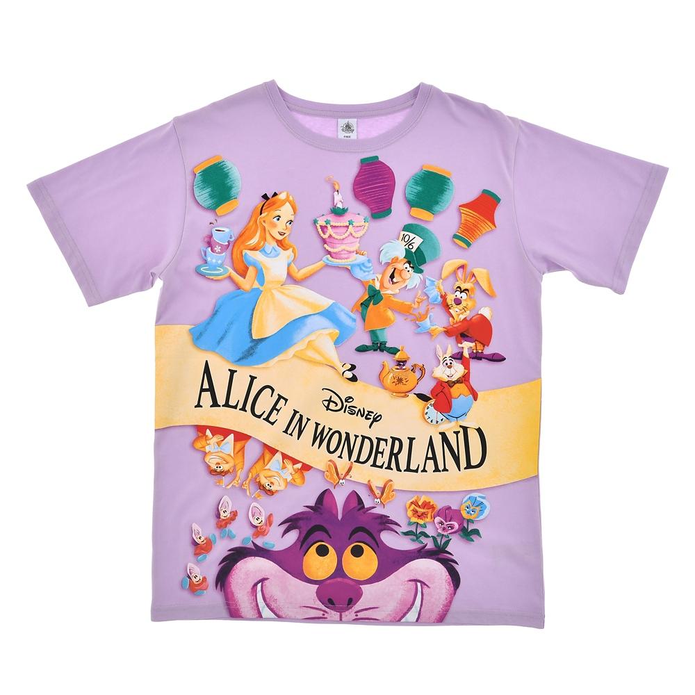 ふしぎの国のアリス 半袖Tシャツ Alice in Wonderland 70