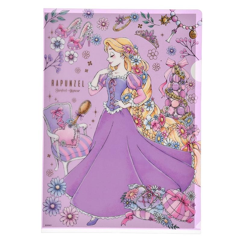 アリエル&ラプンツェル クリアファイル Romantic Dress