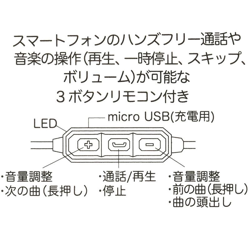 ミッキー Bluetoothステレオイヤホン アイコン