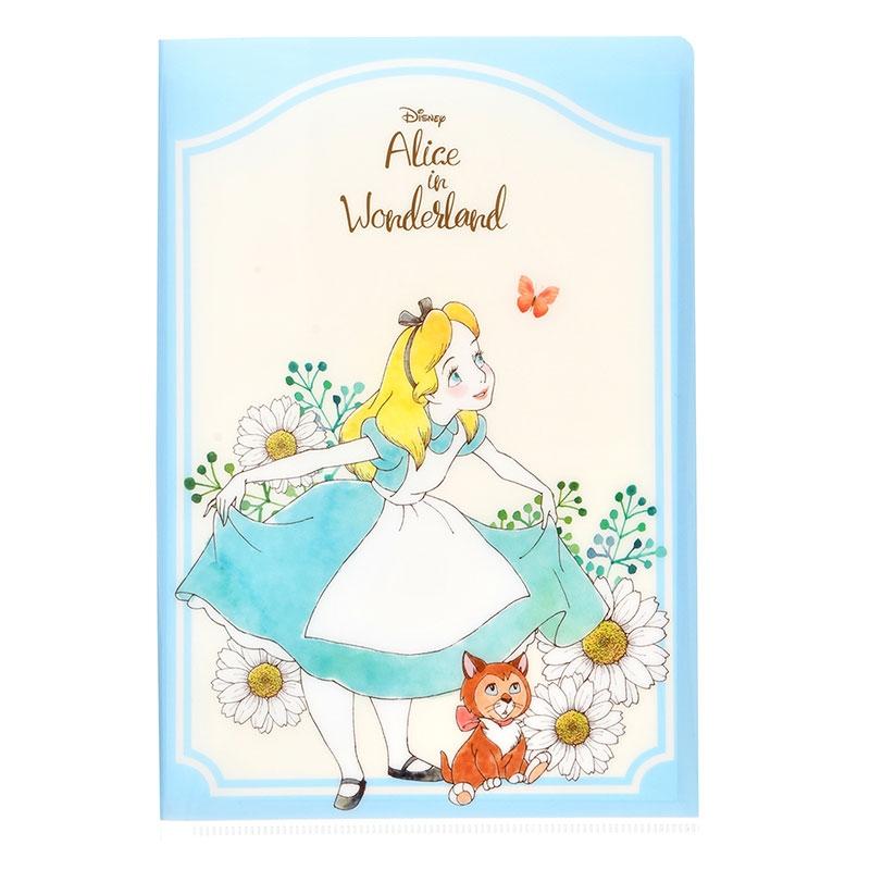 アリス&ダイナ、チェシャ猫 レターセット クリアファイル付き Garden