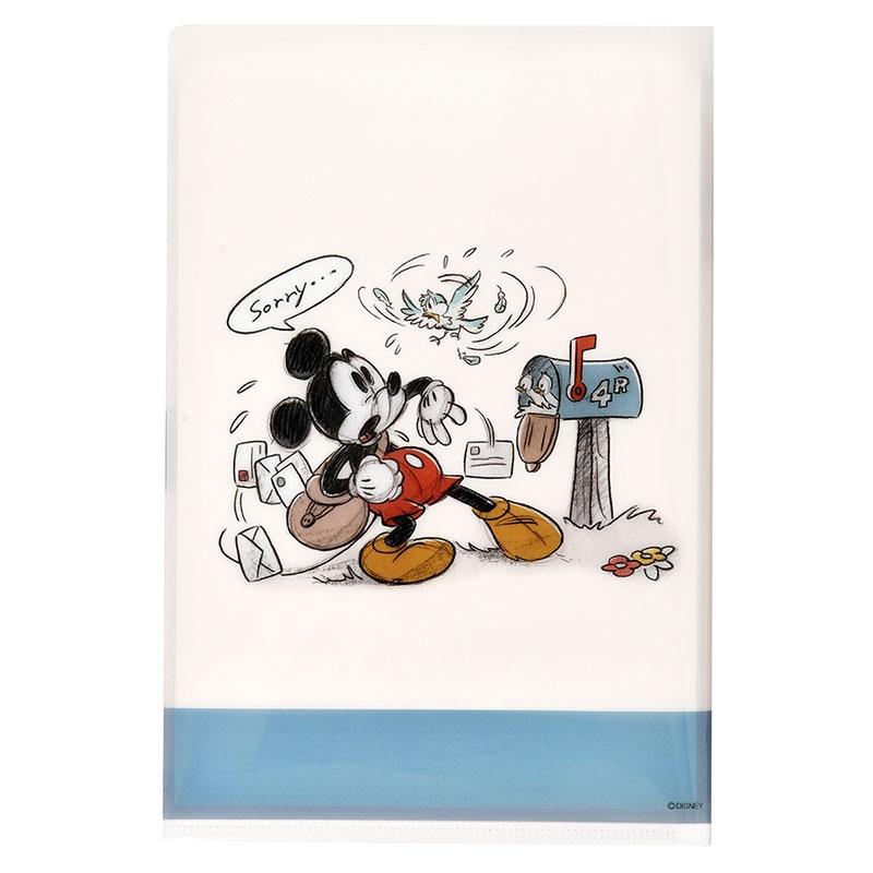 ミッキー&フレンズ レターセット クリアファイル付き Classic