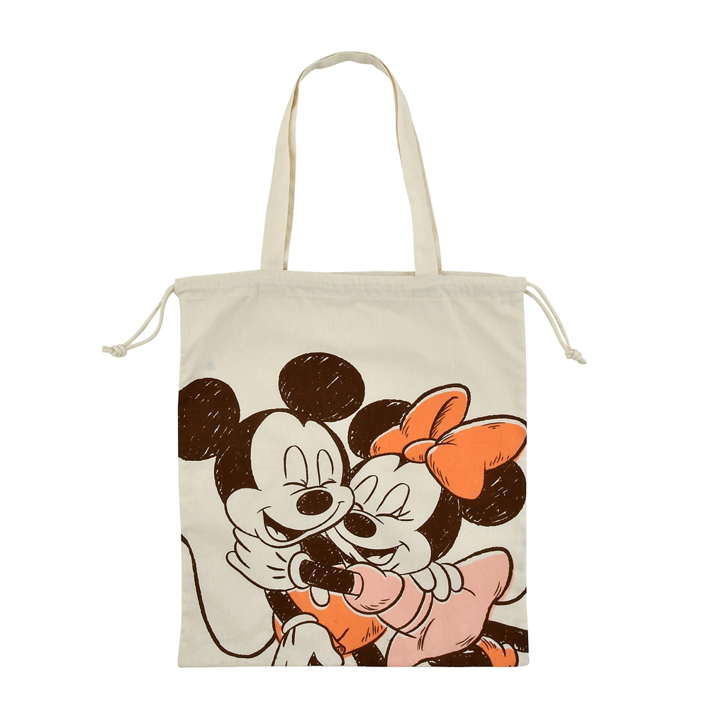 ミッキー&ミニー トートバッグ ハグ&スマイル TOTE BAG Collection