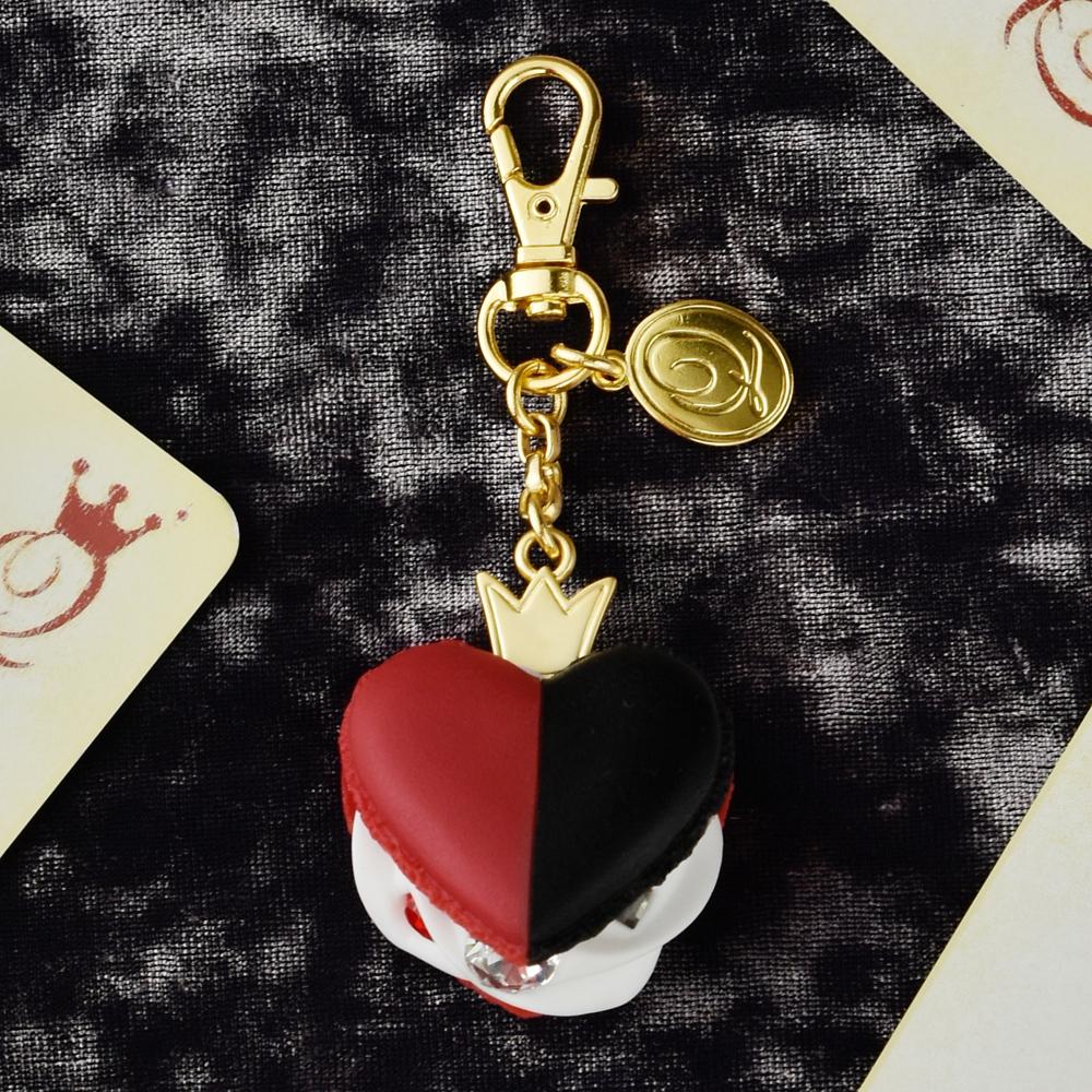 【キューポット】ハートの女王/バッグチャーム ハートマカロン