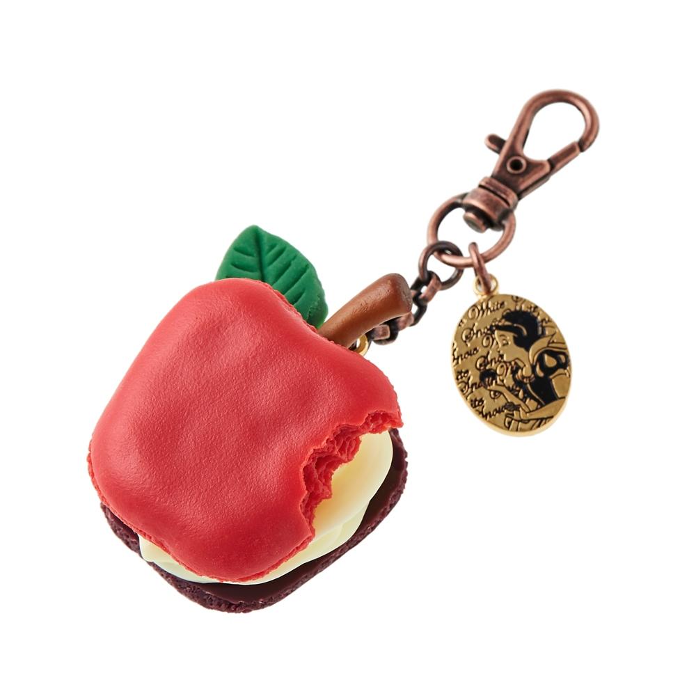 【キューポット】白雪姫/バッグチャーム アップルマカロン