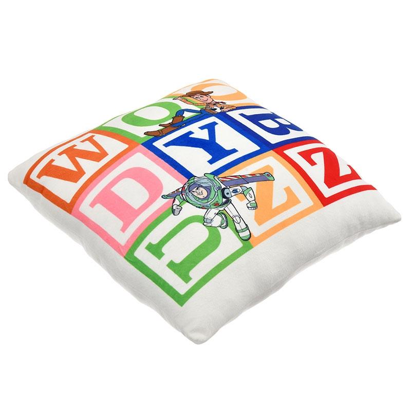 ウッディ、バズ・ライトイヤー、リトル・グリーン・メン/エイリアン クッション Toy Story Legacy