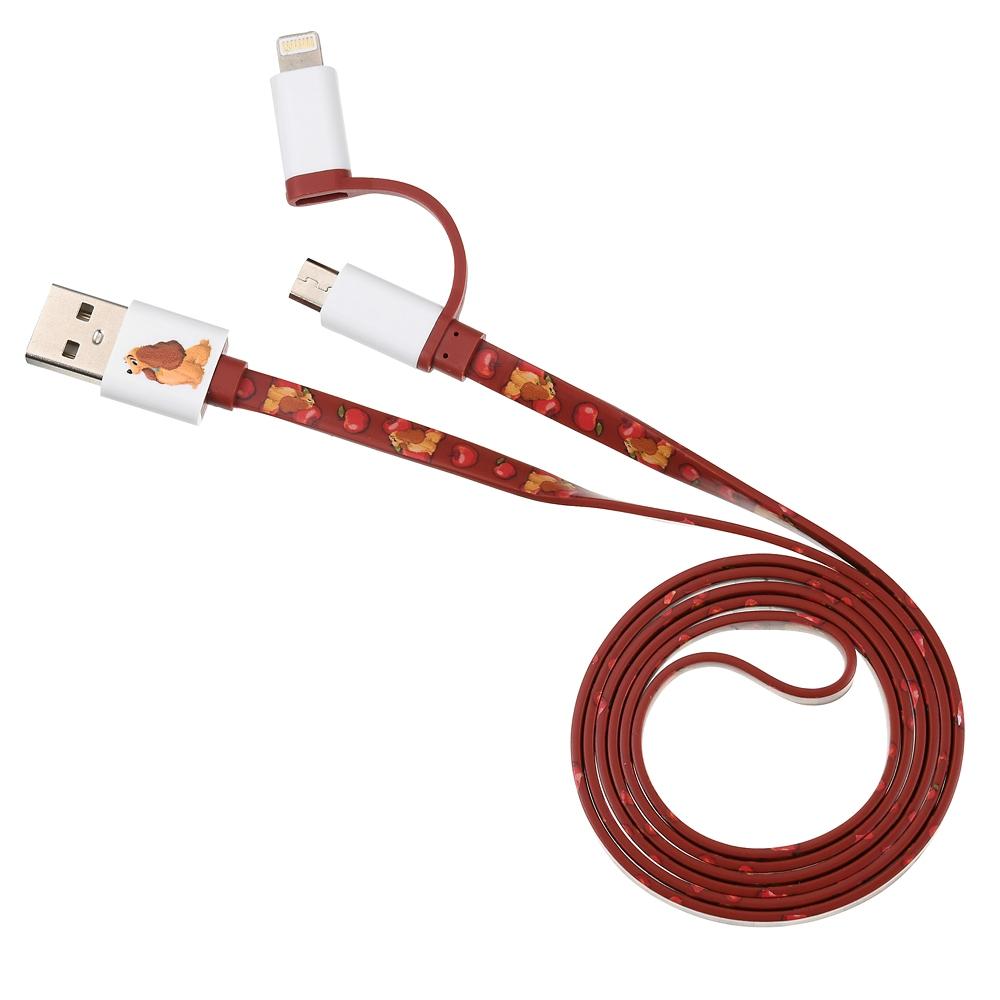 レディ iPhone用USBコード 2in1 Ringo Zakka