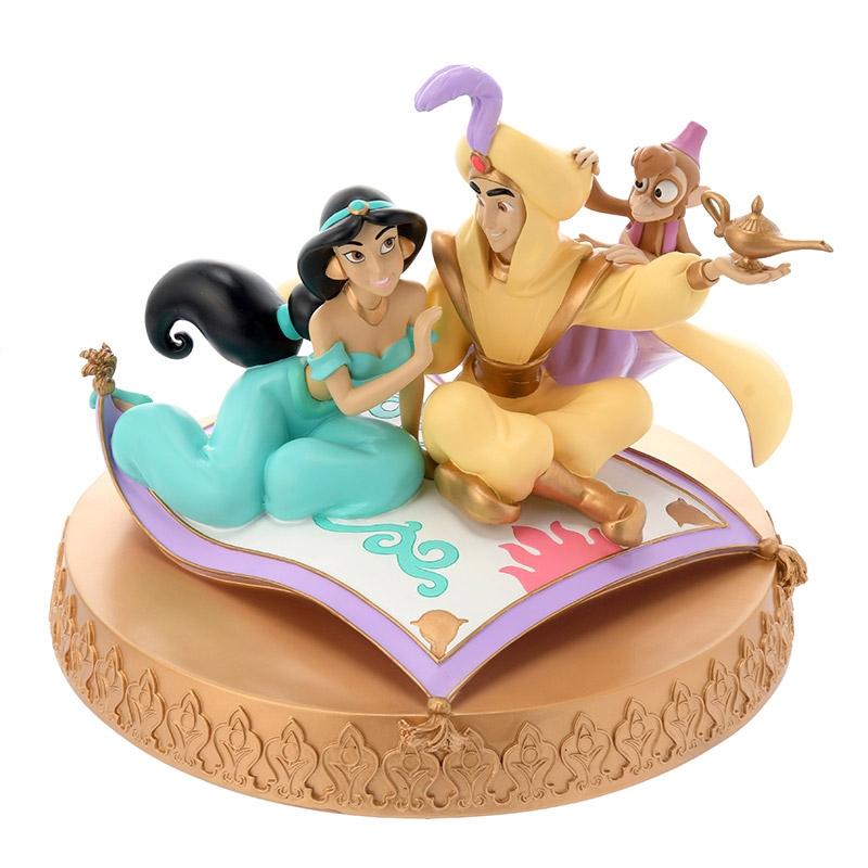 フィギュア アラジン&ジャスミン Aladdin 2019