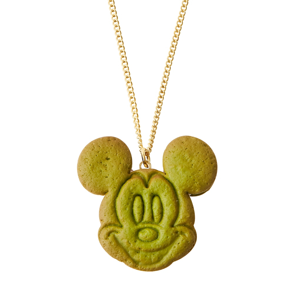 【キューポット】ミッキーマウス/ネックレス アズキアイスクリーム クッキーサンド