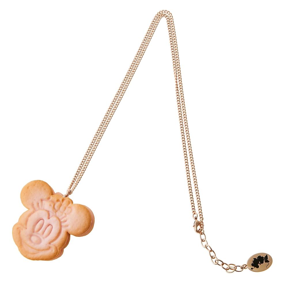 【キューポット】ミニーマウス/ネックレス サクラ アイスクリーム クッキーサンド