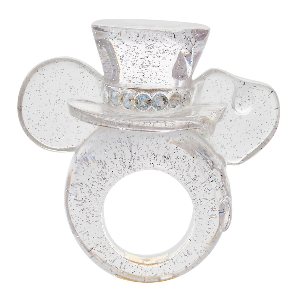 【キューポット】ミッキーマウス/リング トゥインクル メルト ミズアメ イヤーリング