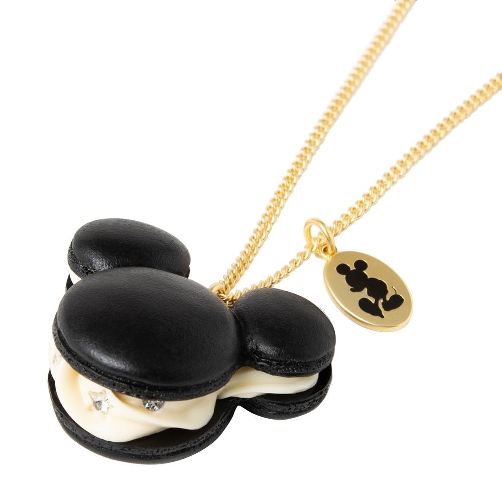 【キューポット】ミッキーマウス/ネックレス マカロン