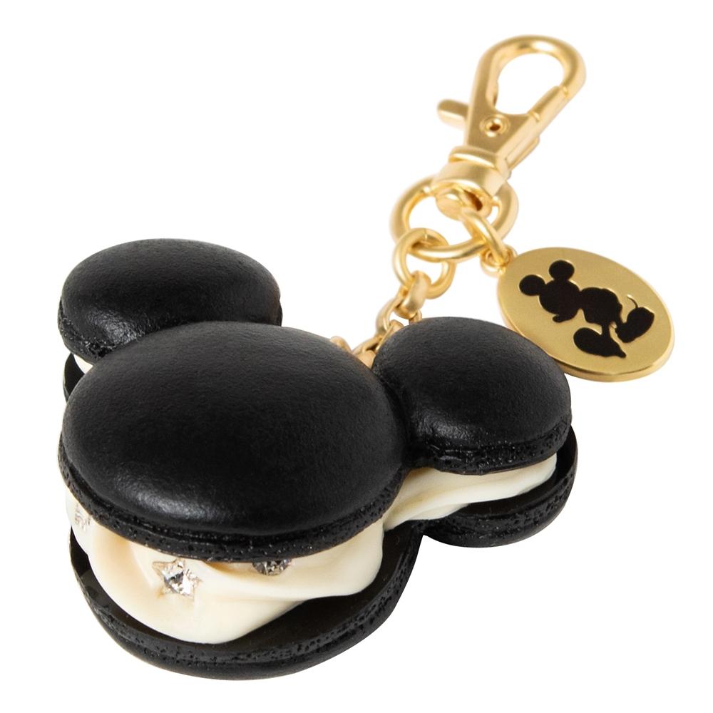 【キューポット】ミッキーマウス/バッグチャーム マカロン