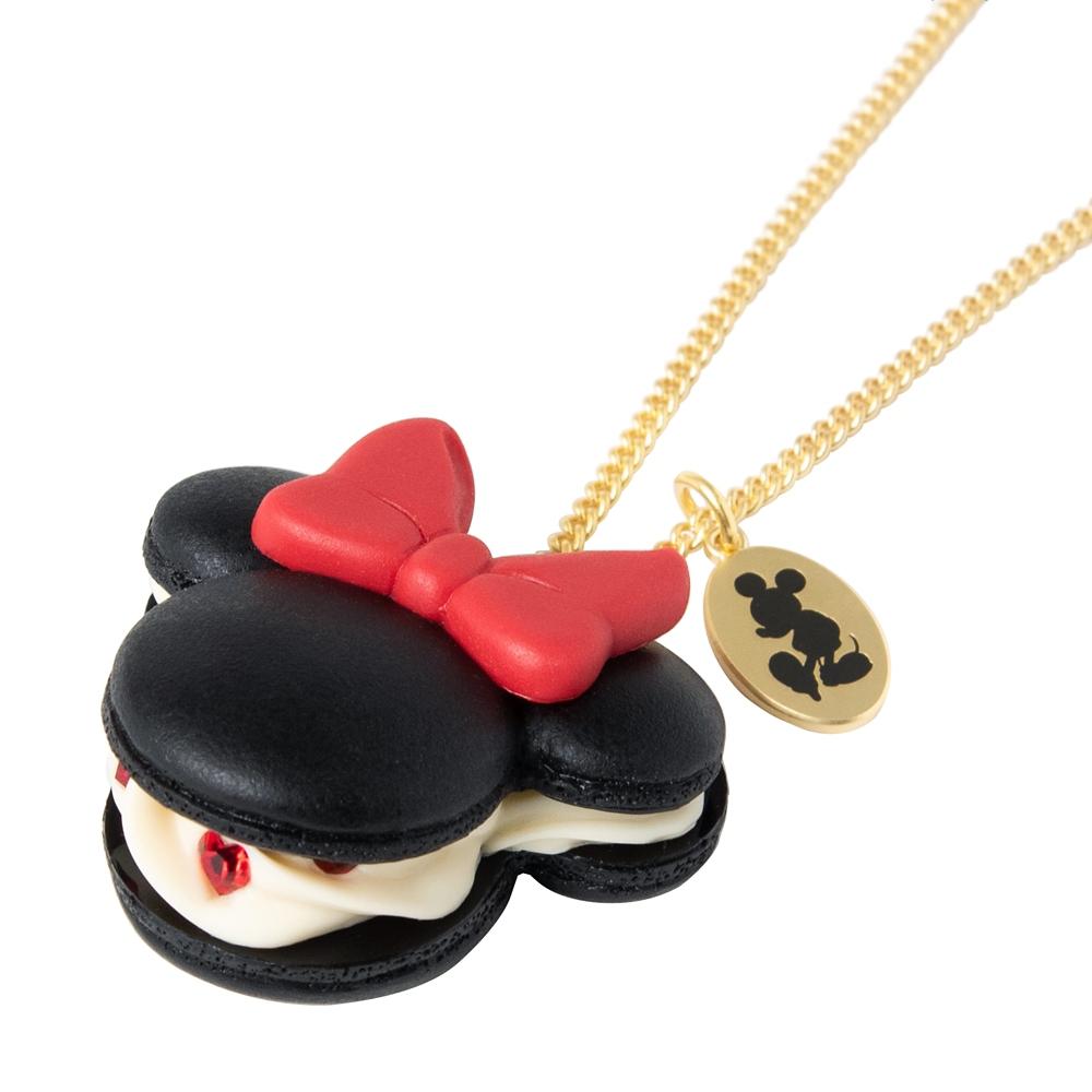 【キューポット】ミニーマウス/ネックレス マカロン