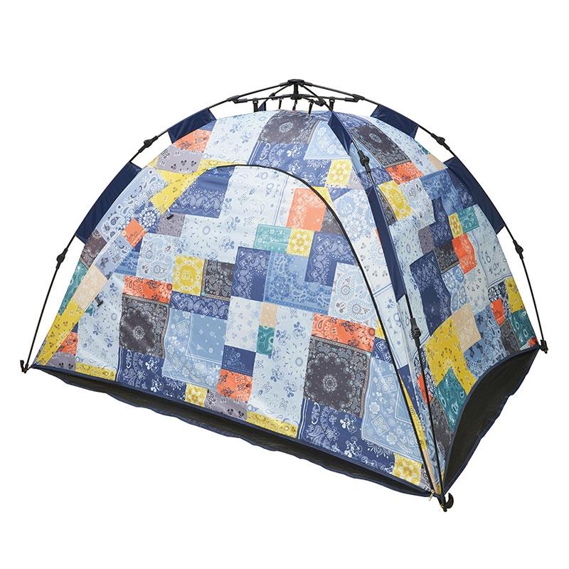 【LOGOSとの特別共同企画】Q-TOP フルシェード  ミッキー&フレンズ Outdoor Camp