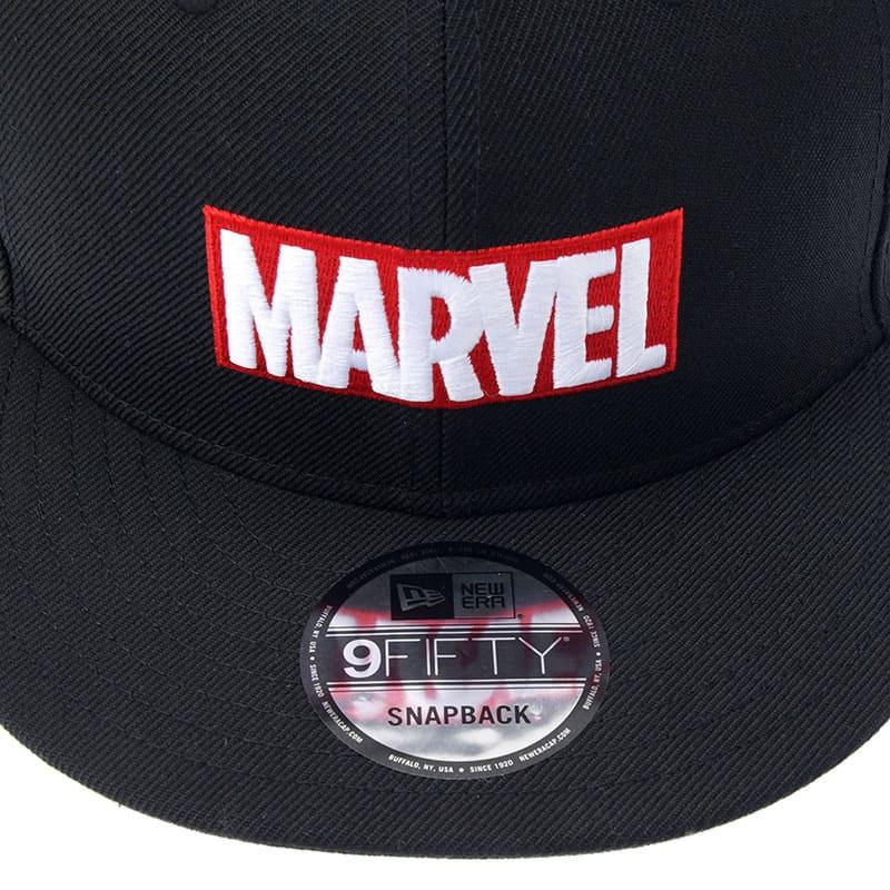 【NEW ERA】帽子・キャップ 9FIFTY マーベル ロゴ ブラック