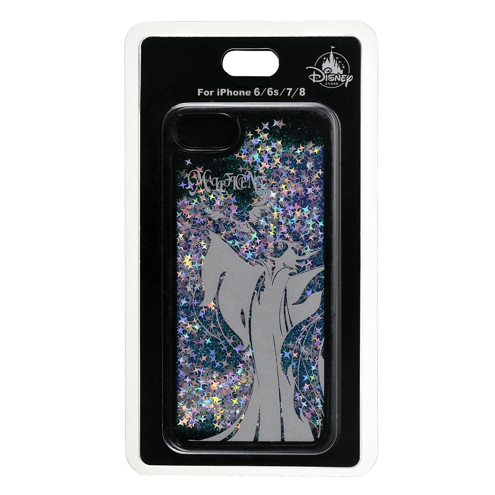 マレフィセント iPhone 6/6s/7/8用スマホケース・カバー シャイニー
