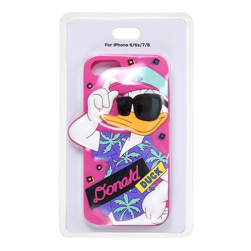 ドナルド iPhone 6/6s/7/8用スマホケース・カバー Summer Party