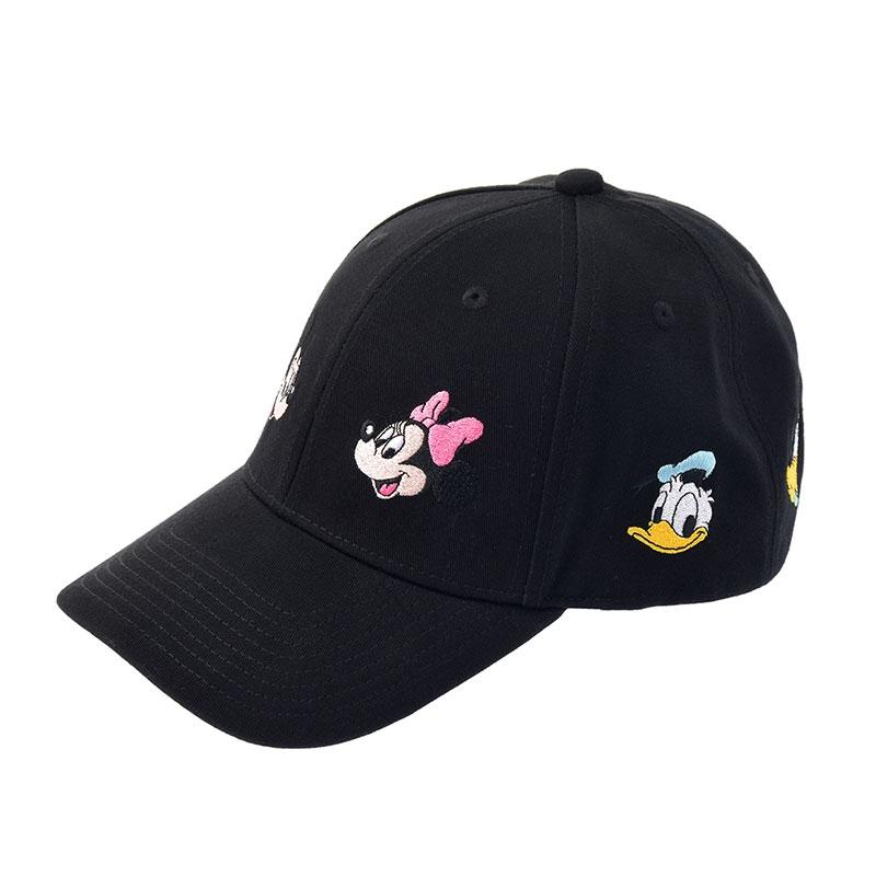 ミッキー&フレンズ 帽子・キャップ ブラック シミラールック