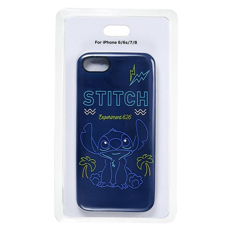 スティッチ iPhone 6/6s/7/8用スマホケース・カバー NEON