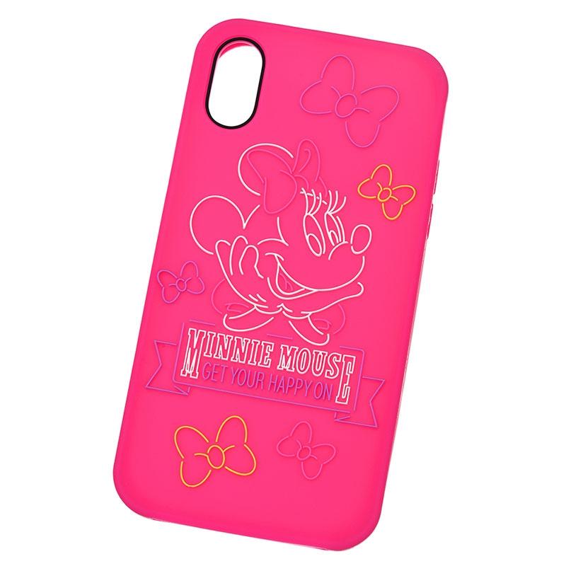 ミニー iPhone X/XS用スマホケース・カバー NEON