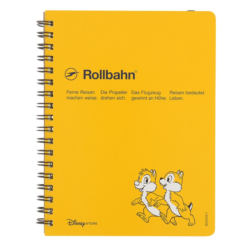 【デルフォニックスとの特別共同企画】Rollbahn ポケット付メモ チップ&デール