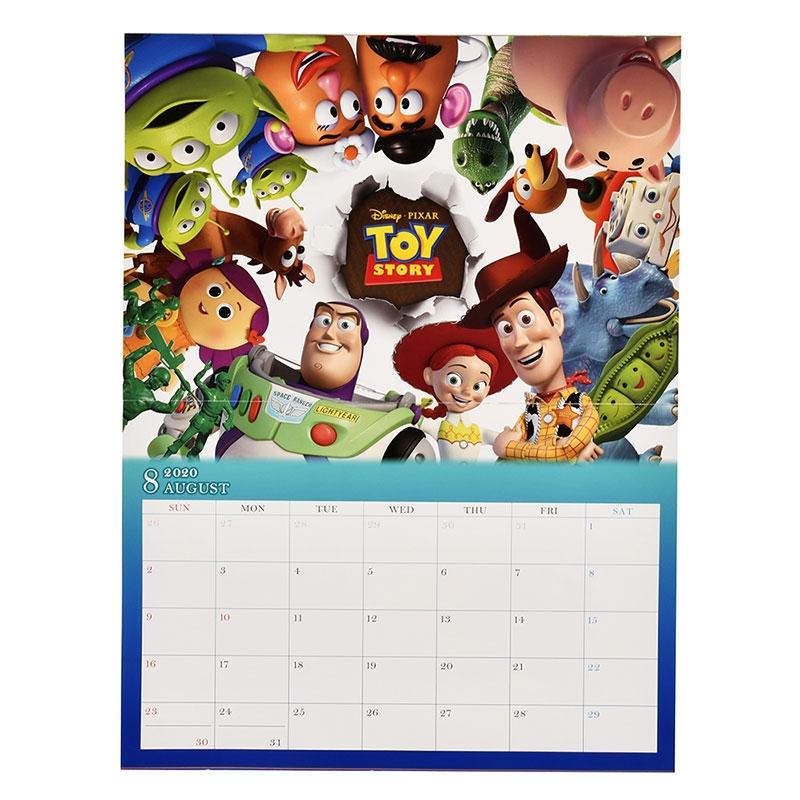 ディズニー/ピクサーキャラクター 壁掛けカレンダー 2020 Dream